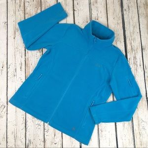 Columbia Fleece Jacker Large Blue
